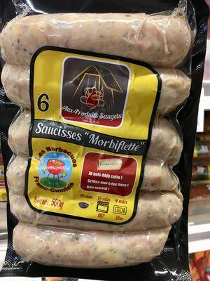 Saucisses Morbiflettes SAUGETS x6