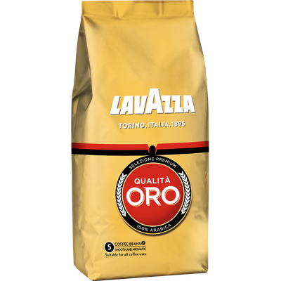 Café en grains Qualita Oro LAVAZZA, 500g