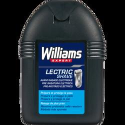 Lotion avant-rasage électrique Lectric Shave, WILLIAMS, 100ml