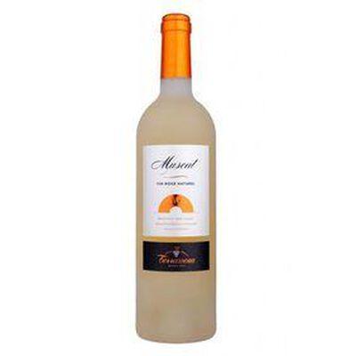 MUSCAT DE RIVESALTES, Vin doux naturel TERRASSOUS 750ML