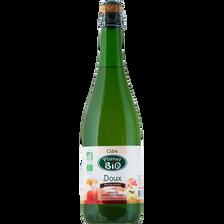 Cidre doux, PLANET BIO, 2°, 75cl