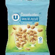 Cacahuètes grillées sans sel ajouté U, 150g