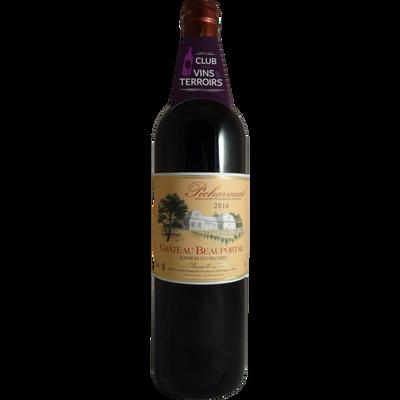 Club vins et terroirs, Pecharmant AOP rouge château Beauportail c.trad., 75cl