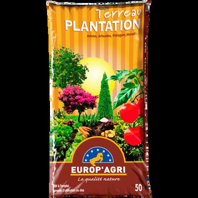 Terreau pour plantation EUROP'AGRI, 50 litres
