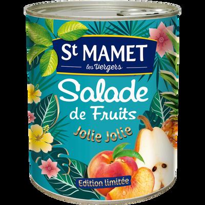 Macédoine de fruits au sirop ST MAMET, boite de  475g