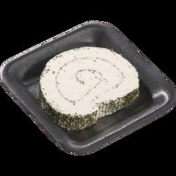 spécialité fromagère au lait pasteurisé Le Roulé 28%mg ail et fines herbes RIANS portion 125g