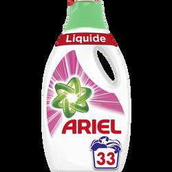 Lessive liquide pink ARIEL, 33 doses soit 1,815L