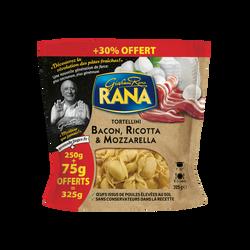 Tortellini bacon ricotta mozzarella RANA 250g+30% offert