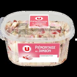 Piémontaise au jambon supérieur U, 800g
