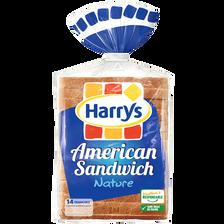Harry's Pain De Mie American Sandwich Nature , 550g