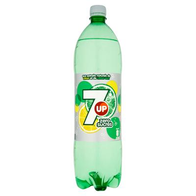 soda SEVEN UP zéro, bouteille de 1,5l