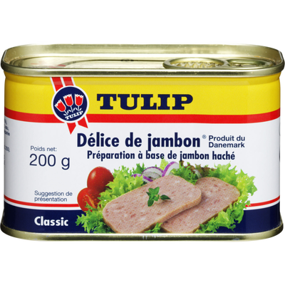 Délice de jambon TULIP, 200g