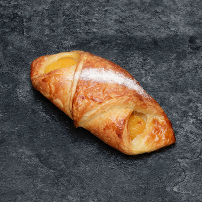 Croissant aux abricots, 1 pièce, 100g