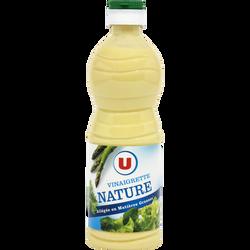Vinaigrette nature en matières grasses U, 50cl