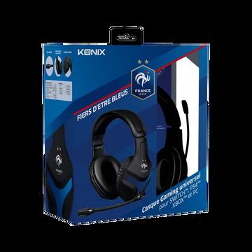 Nintendo Casque Gamer Konix Fff Ps400 Pour Ps4/xbox One/nintendo