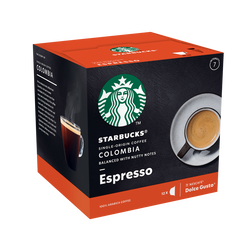 STARBUCKS by dolce gusto colombia, x12 capsules, 66g
