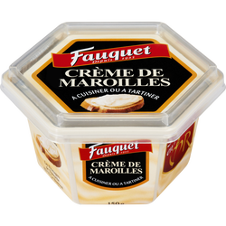 Fromage fondu au lait pasteurisé Crème de Maroilles FAUQUET, 22%MG,150g