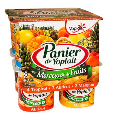 Tropical/Abricot/Mangue 125x8