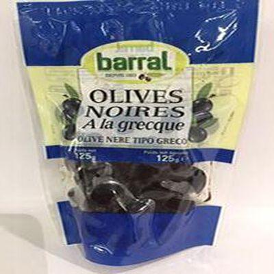 Olives Noires A la Grecque BARRAL