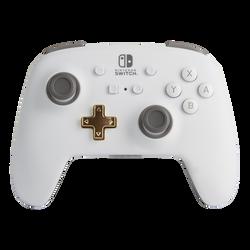 Manette sans fil NINTENDO power a pour Nintendo switch blanc