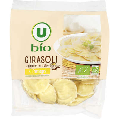 Girasoli 4 fromages U BIO, 250g
