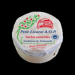 From.petit Livarot lait thermisé 22%mg AOP TRADITIONS NORMANDIE 270G