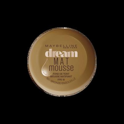 Fond de teint mousse matifiant dream matte mousse 50 bronze ensoleillé,  MAYBELLINE, nu 18ml