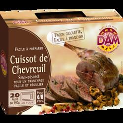 Gigolette de chevreuil DAMIEN DE JONG 2,2kg environ