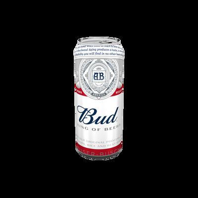 Bière blonde BUD, 5°, canette de 50cl