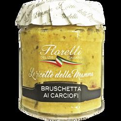 Sauce tartinable à l'artichaut FLORELLI,  200g