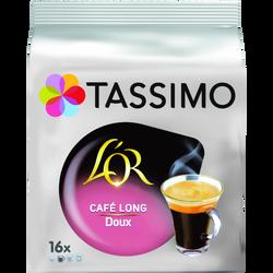 TASSIMO café long doux l'Or discs, x16, 89g