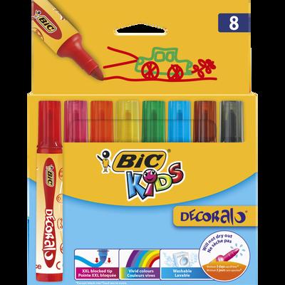 Feutre de coloriage Decoralo BIC, 8 unités