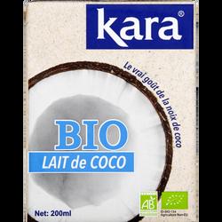 Lait de noix de coco Kara BIO brique 200ml