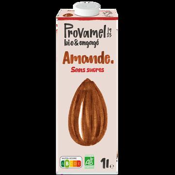 Provamel Amande Sans Sucres Bio Provamel 1l
