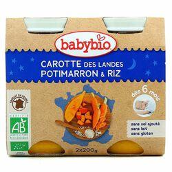 BABYBIO B N CAROTTE POTIMARRON