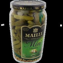 Maille Mini Cornichons , Bocal De 370g