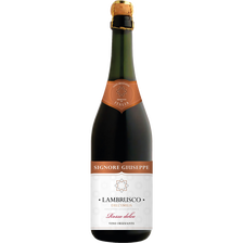 Vin rouge IGP Lambrusco Dell'Emilia Signore Giuseppe, 75cl