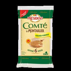Comte lait cru 34%mg PRESIDENT 340g