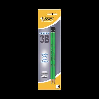 Crayon de papier 3B BIC Criterium 550, pack de 2