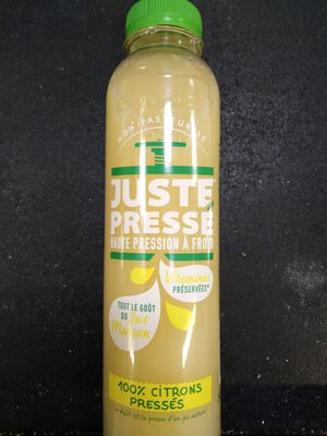 CITRONS PRESSES 500ML