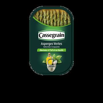 Cassegrain Asperges Vertes Marinées Cassegrain, Boîte 1/2 De 120g