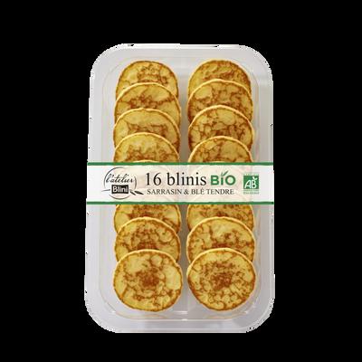 Blinis bio L'ATELIER BLINI, paquet de 135g