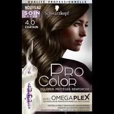 Coloration châtain 4.0 PRO COLOR