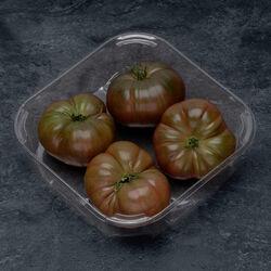 Tomate, segement les côtelées, Noire de crimée, BIO, catégorie 2, France, barquette, 500g