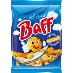 Pop corn caramel BAFF, paquet de 100g