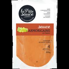 Sauce armoricaine EPC, transformée en France, sachet 200g
