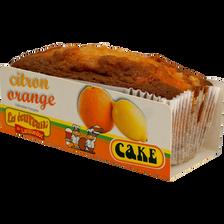 Cakes citron orange Les Ecureuils du Languedoc 350g