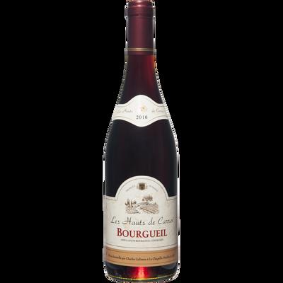 Vin rouge AOC Bourgueil Les Hauts de Carroi, 75cl