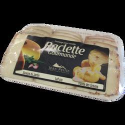 Planchet.raclet.lait pasteurisé/cru,24%mg, 3sav.(lt cru/afh/gris.)360g