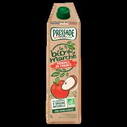 Nectar de pomme à base de jus de pomme Bio PRESSADE 1litre